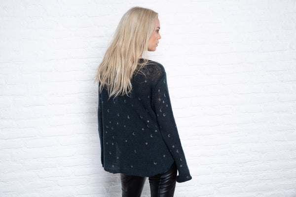 Ink Cosmos V Sweater