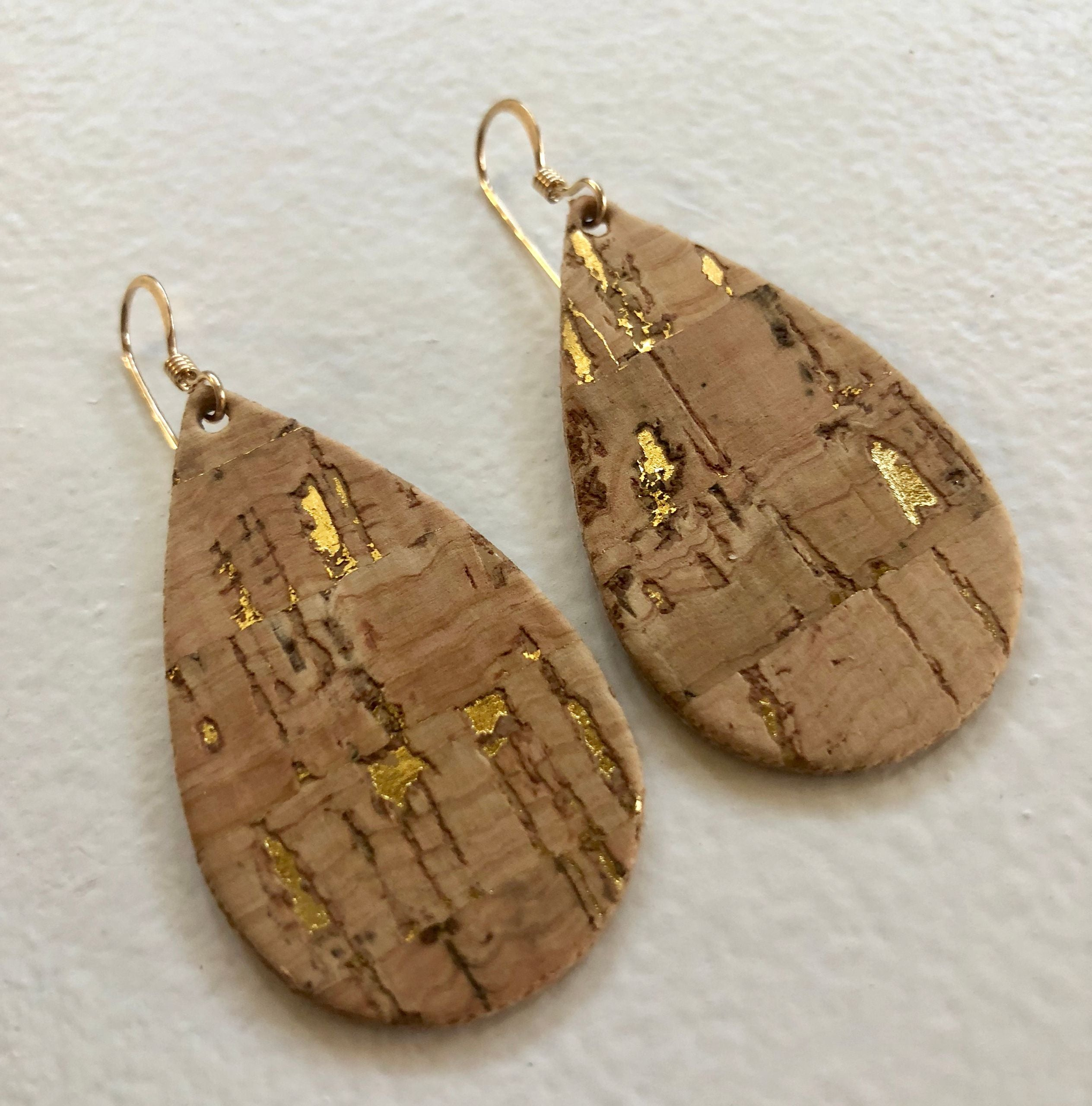 Baby Tear Natural Cork w Gold