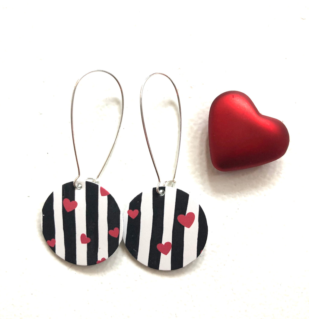 Little O Hearts and Stripes