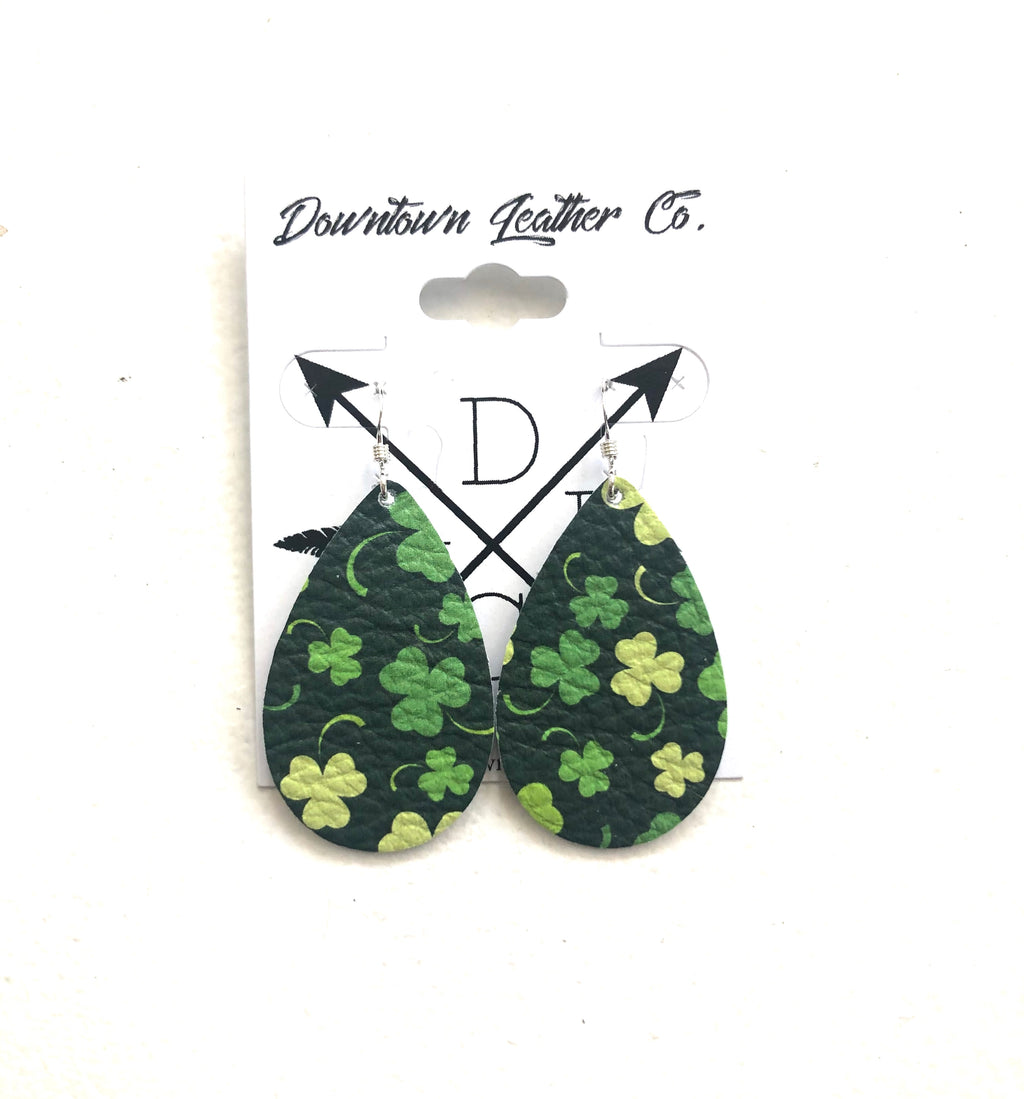 Baby Tear Shamrock Leather