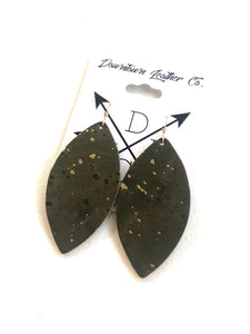 Gidget Olive Cork with Gold