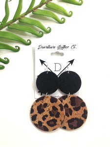 Double Big O Black Cork/Cheetah Cork