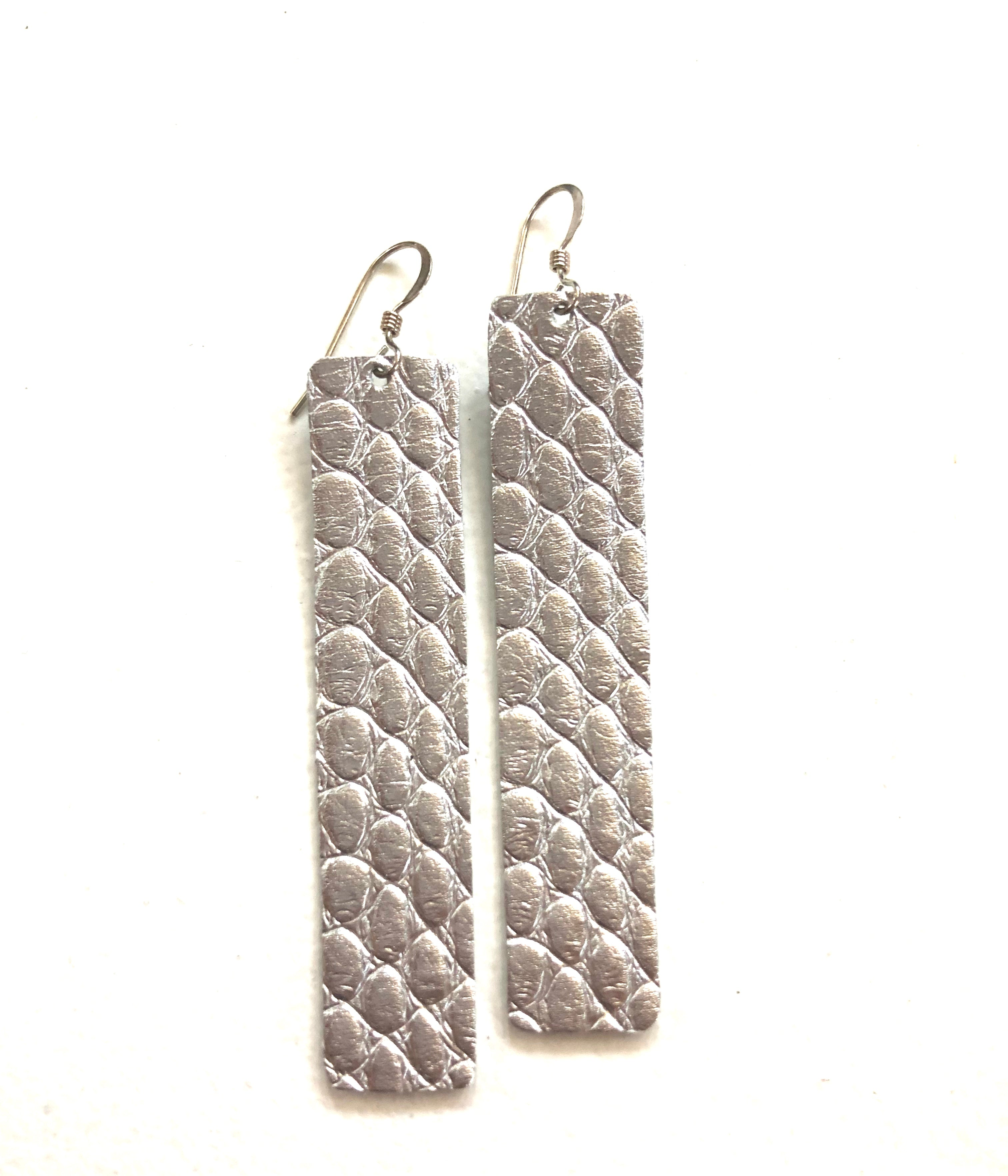 Walk the Line Snakeskin Silver