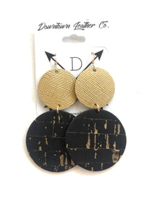 Double Big O Gold Medal Leather / Black Cork w Gold