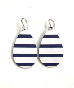 Baby Tear Navy & White Striped