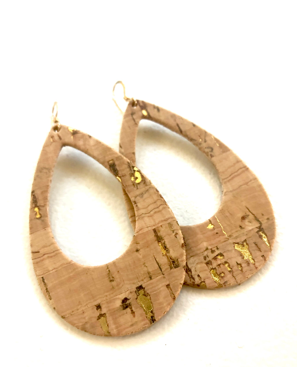 Cut it Out Cork in Natural w Gold