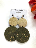 Double Big O Gold Medal Leather / Olive Cork with Gold