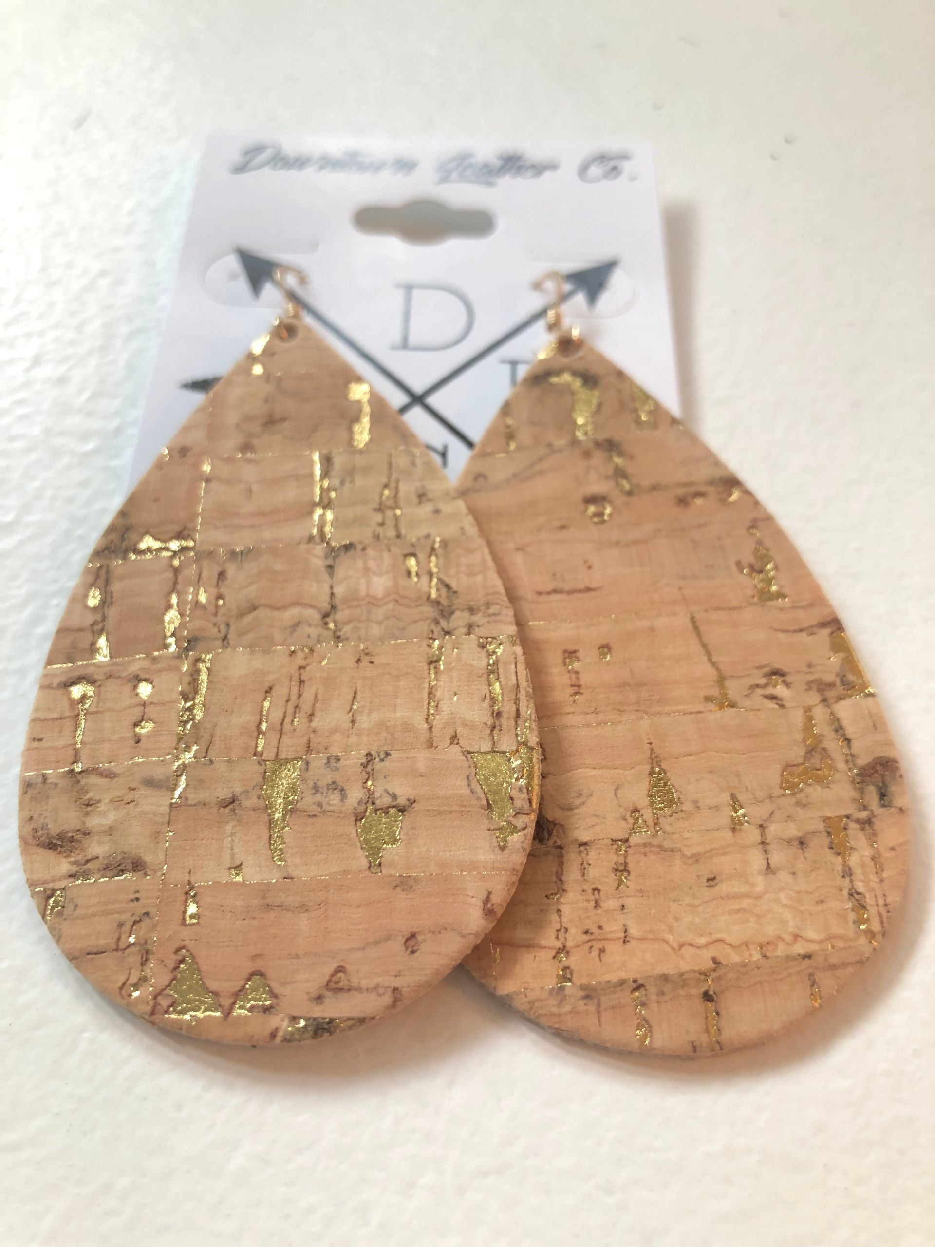 Natural Cork with Gold