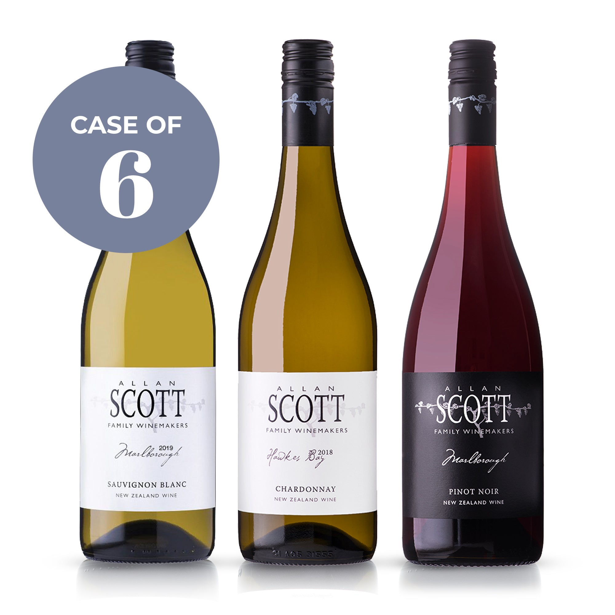 Allan Scott Wines, Mixed case - Featured Producer