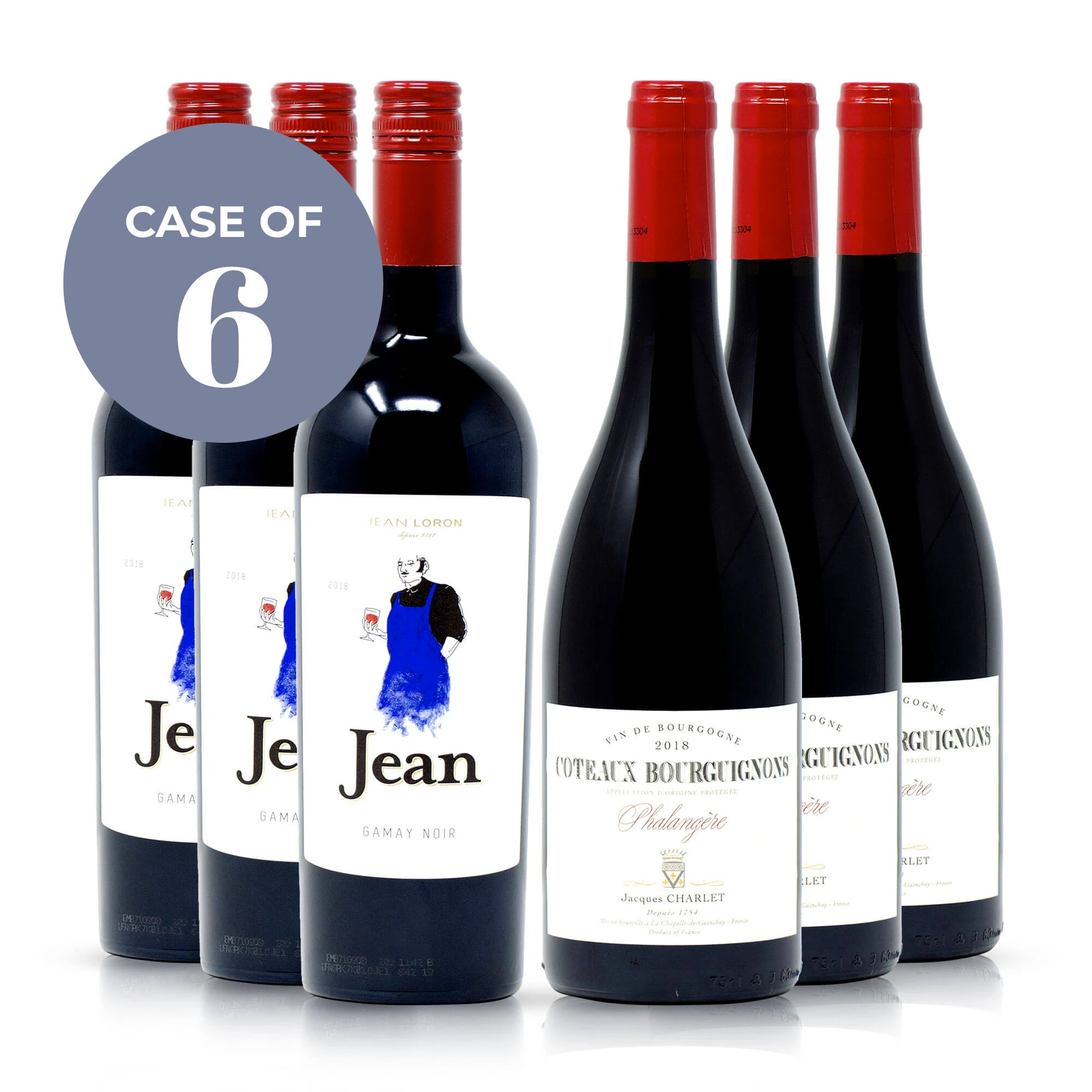 Mellow Red French Wines