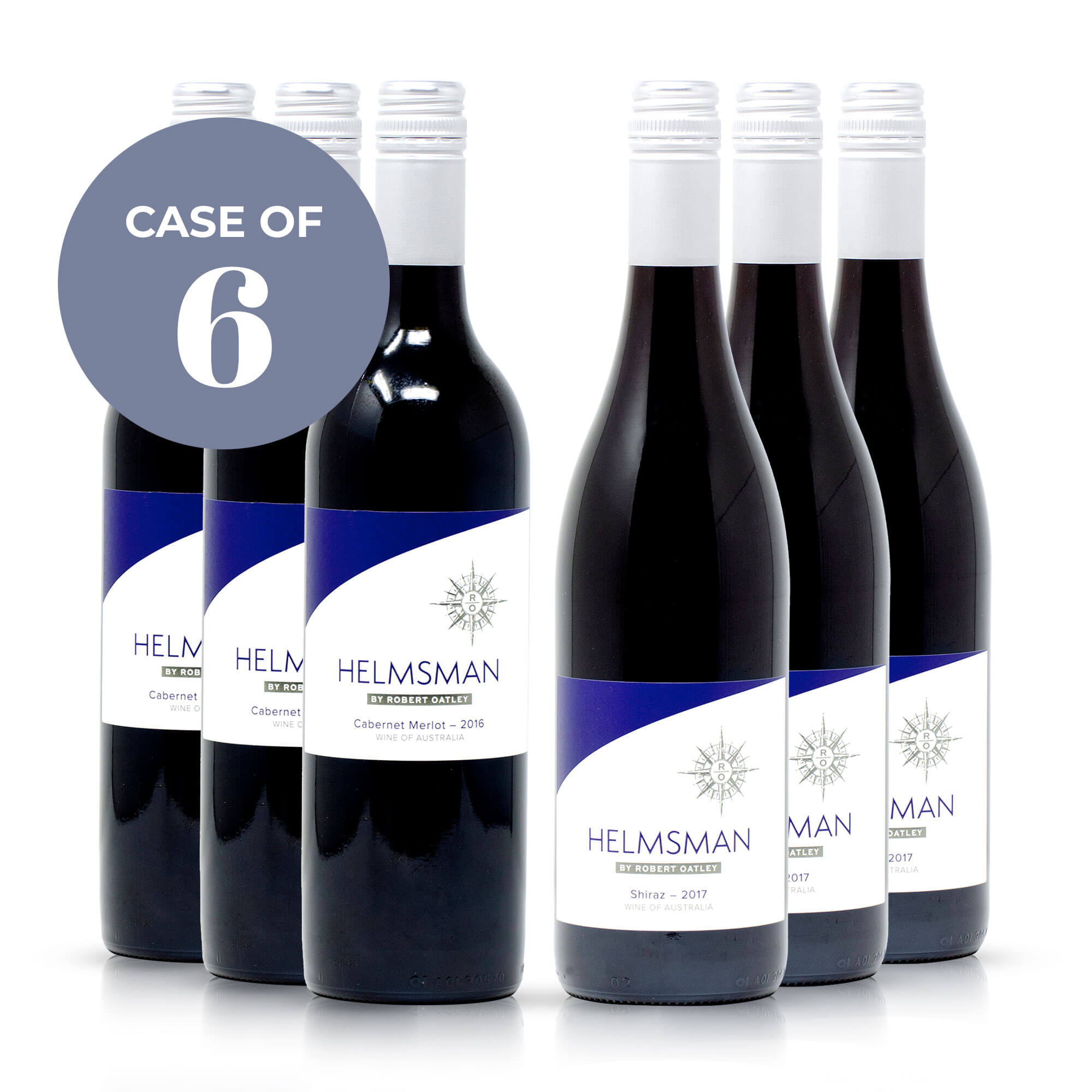 """Helmsman"" Australian Red Wines"
