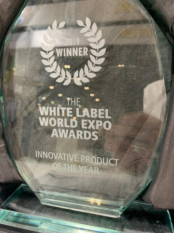 WE WON THE WHITE LABEL SERIES 'MOST INNOVATIVE PRODUCT OF THE YEAR!'