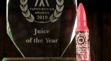 Riot Squad E-liquid Wins Juice of the Year 2019!