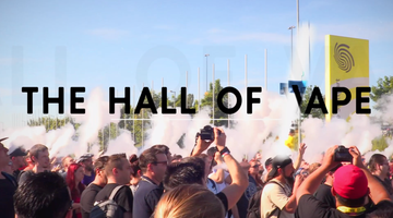 The hall of vape 2019, Stuttgart.