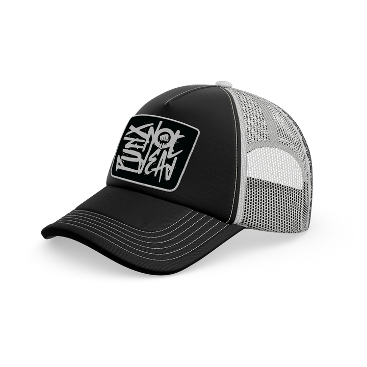 PUNX Not Dead - Black Trucker Cap
