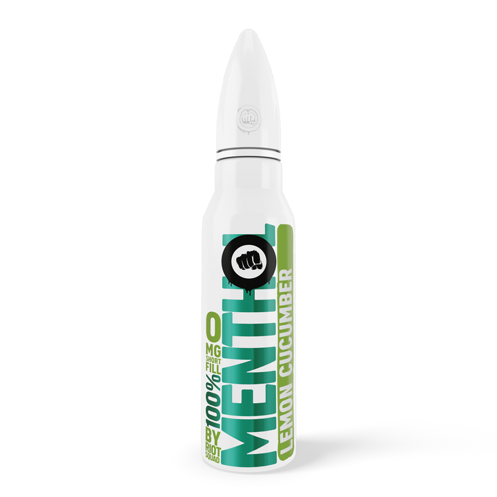100% Menthol - Lemon Cucumber Shortfill