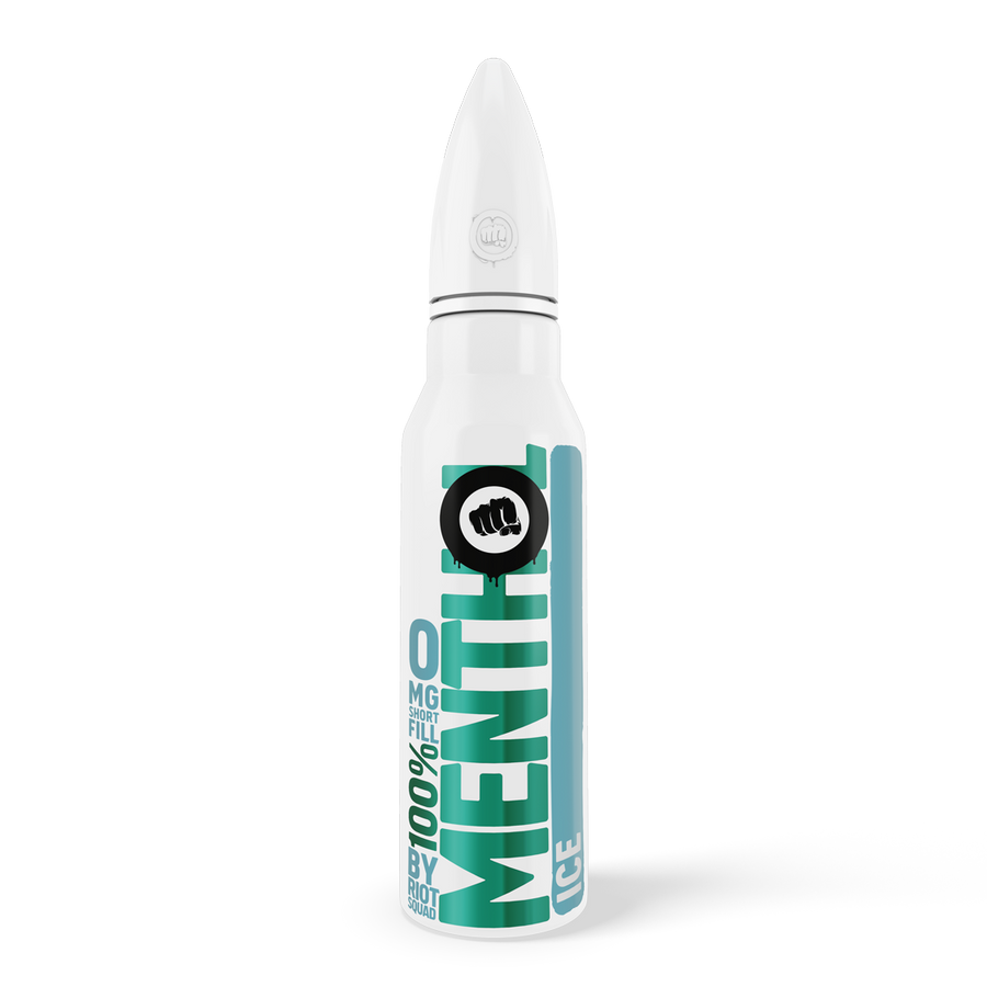 100% MENTHOL - ICE SHORFILL