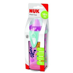 Copo Flexi Cup Antivazamento - Nuk - 300ml - Girl - (18M+)