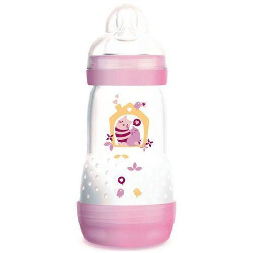 Mamadeira Easy Start 260ml - Mam - Girls - (2M+)