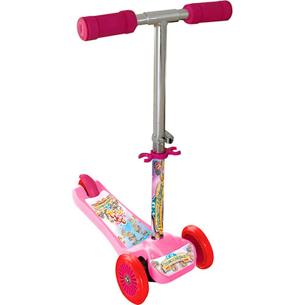 Patinete Scooter Mini Princesas Zoop Toys - Rosa - 3 anos+