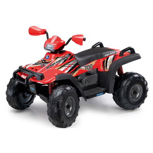 Quadriciclo Elétrico Polaris Sportsman 700 12V Peg Perego - New Red - 3 anos+