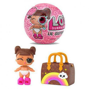 Boneca Lol Surprise Lil Sisters - Serie Eye Spy - 5 Surpresas
