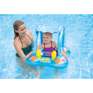Boia Baby Float com Cobertura - Intex - Até 15kg
