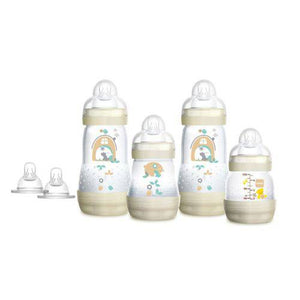 Mamadeira Easy Start Gift Set com 4 Und. - Mam - Girls - (0M+)
