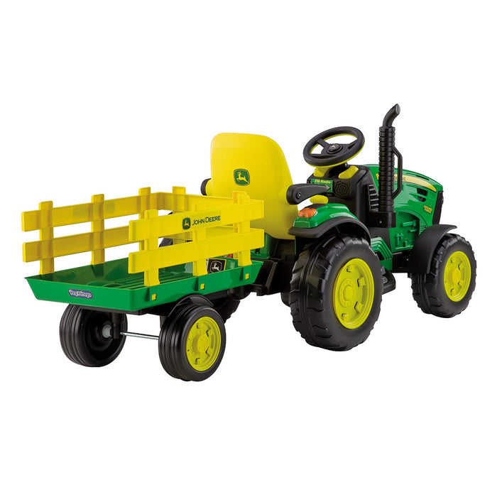 Quadriciclo Elétrico John Deere Ground Force 12V Peg Perego - 3 anos+
