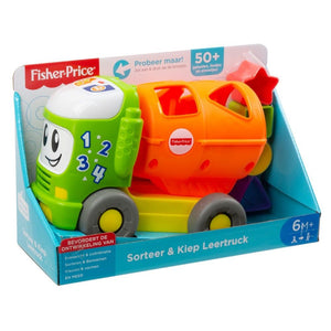 Caminhão Educativo - Fisher Price - 6 meses+