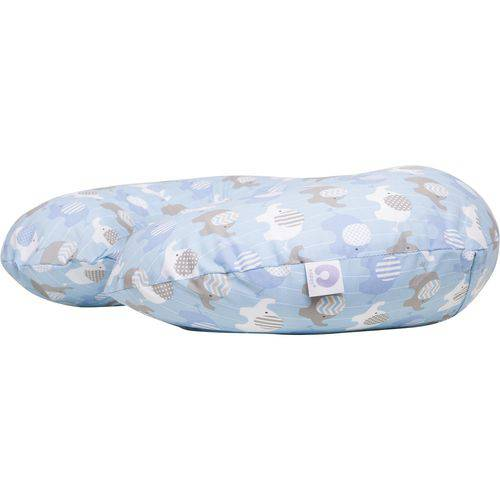 Forro Boppy Algodão Chicco - Elephants Blue