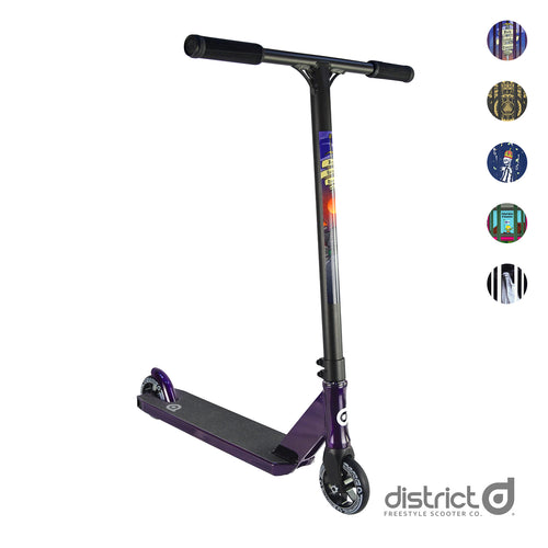 District C50R Signature Replica Complete Scooter