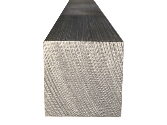 Aluminum Square Bar 2-1/2 (Grade 6061) - inchofmetal
