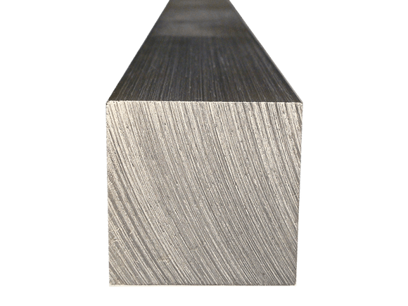 Aluminum Square Bar 1/2 (Grade 6061) - inchofmetal