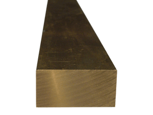 Brass Flat Bar 1/4 x 3 (Grade 360) - inchofmetal