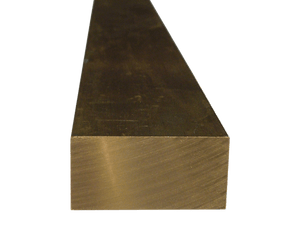 Brass Flat Bar 1/4 x 2 (Grade 360) - inchofmetal