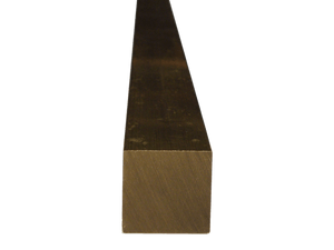 Brass Square Bar 5/8 (Grade 360) - inchofmetal