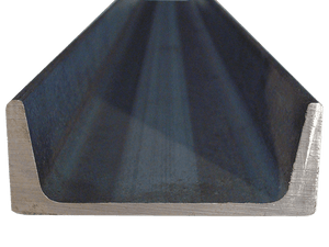 Steel Standard Channel 4 x 5.4# (Grade A36) - inchofmetal