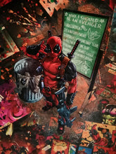 Charger l'image dans la galerie, Juppaman Artwork | Deadpool Blanket | Deadpool - Why I should be an Avenger