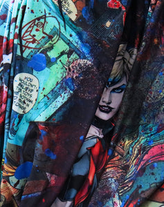 Juppaman Artwork | Harley Quinn blanket | Harley Quinn - Because we love cray