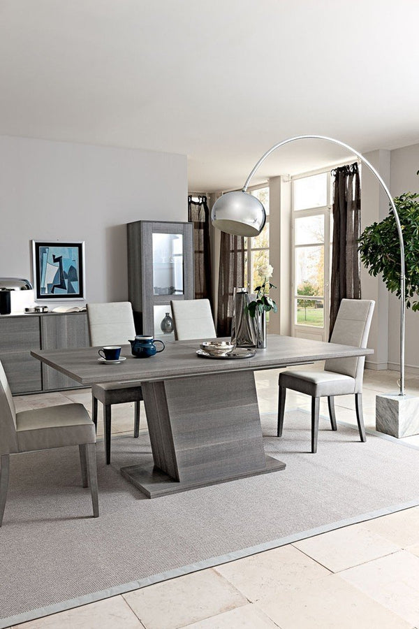 Futura Day Grey Sawmarked Italian Oak 180-270cm Extending Dining Table - AR Furnishings - Specialists In Bringing Luxury Into Your Home.