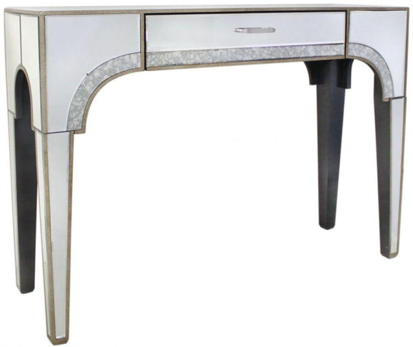 Mara Antique Mirrored Console Table - AR Furnishings - Specialists In Bringing Luxury Into Your Home.