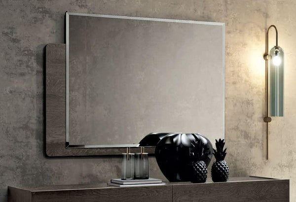 Camel Tekno Night Rectangular Mirror - AR Furnishings - Specialists In Bringing Luxury Into Your Home.