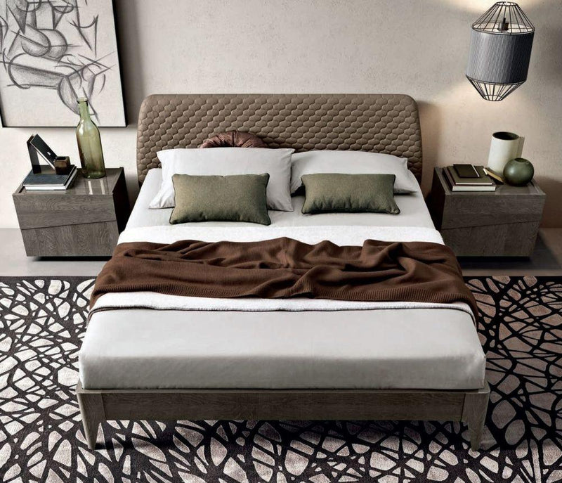 Camel Tekno Night Saturno Italian Bed - AR Furnishings - Specialists In Bringing Luxury Into Your Home.