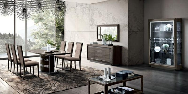 Camel Elite Day Italian 2 Door 3 Drawer Buffet - AR Furnishings - Specialists In Bringing Luxury Into Your Home.