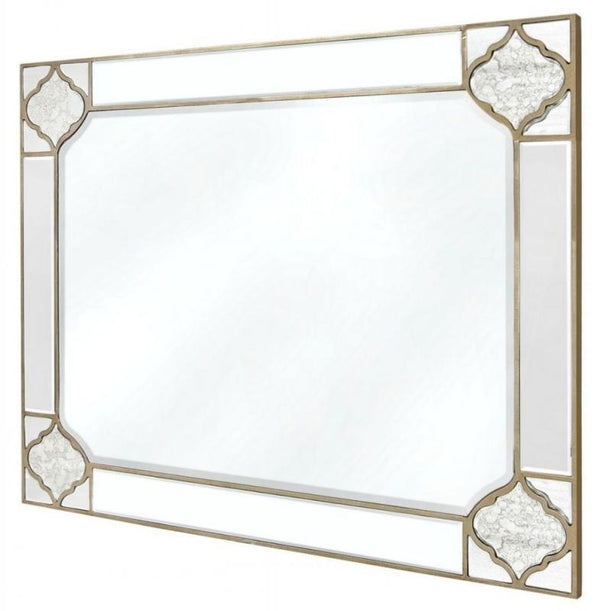 Mara Antique Wall Mirror - 120cm - AR Furnishings - Specialists In Bringing Luxury Into Your Home.