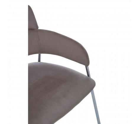 Tamzin Mink Velvet Dining Chair