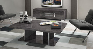 Sarah Grey Birch Italian Small TV Unit - ImagineX Furniture & Interiors