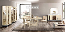 Load image into Gallery viewer, Ambra Sand Birch Finish Italian Extending 140-190cm Dining Table - ImagineX Furniture & Interiors