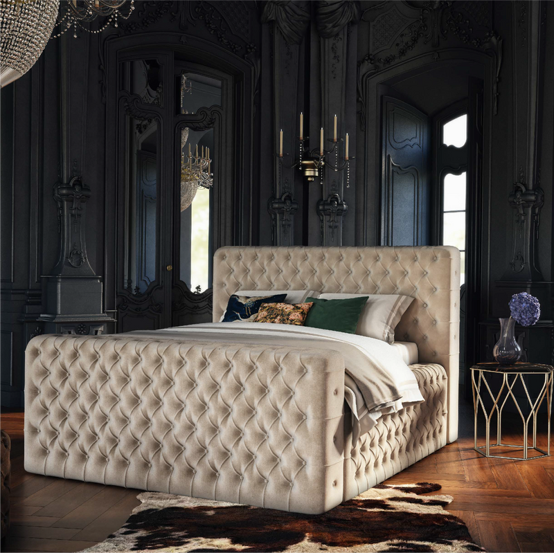 Brussels Bed Frame - AR Furnishings - Specialists In Bringing Luxury Into Your Home.